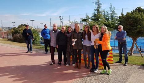 Bonasport i Pàdel Vilanova, campions de pàdel al CN Lleida