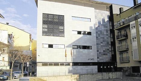 Imatge d'arxiu de l'edifici dels jutjats de la Seu d'Urgell.
