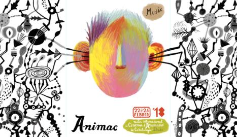 El cartell de l'Animac 2018.