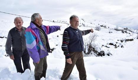 La nevada va deixar 2 metres de neu en nuclis com Montanisell.