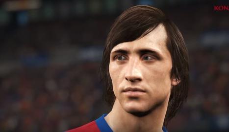 Johan Cruyff al PES