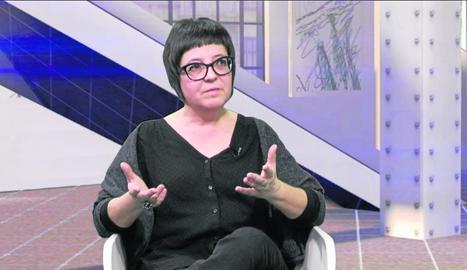 L'artista Olga Olivera, al 'DiS'