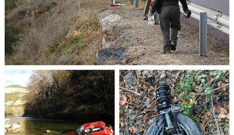 L'accident va tenir lloc el desembre passat a la Pobla de Segur.