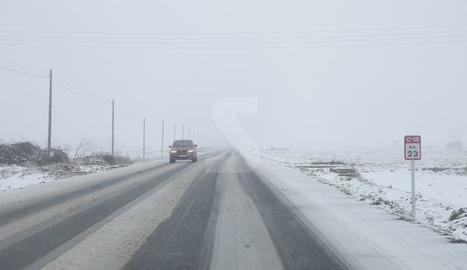 Precipitacions en forma de neu a Ponent des del dimarts al migdia