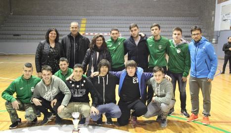 El FS Maials, campió de la Copa Lleida de futbol sala