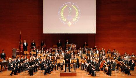 Foto de la Banda Simfònica Unió Musical de Lleida.