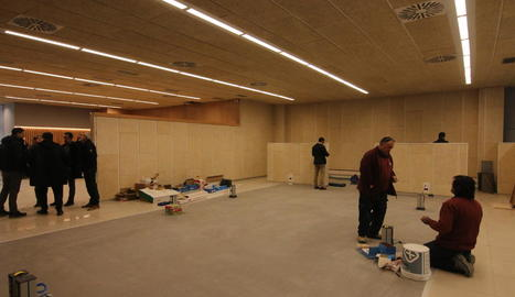 Les noves instal·lacions de l'OMAC a la rambla Ferran.