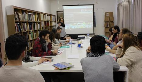 Ahir es va iniciar el curs de formació al Museu de la Noguera.