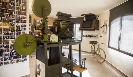 Imatge d'arxiu del museu del cine de Vallbona de les Monges.