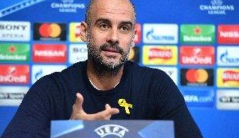Guardiola és sancionat amb 22.500 euros per lluir el llaç groc