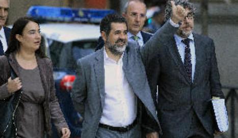 La Fiscalia s'oposa a la sortida en llibertat de Jordi Sànchez
