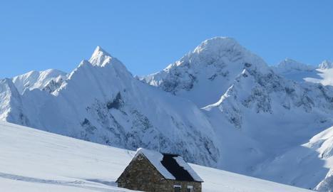 Imatge de la cabana de Còth de Barètja.