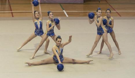 Grup de competidores del CN Lleida.