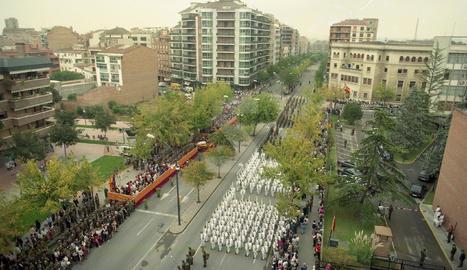 L'Exèrcit s'acomiada de Lleida amb una desfilada