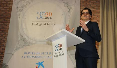 'Diàlegs al Roser' con Enric Fernández