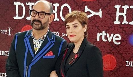 Anabel Alonso i José Corbacho.