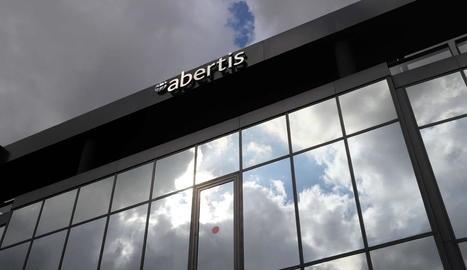 Imatge de la seu corporativa del grup Abertis.