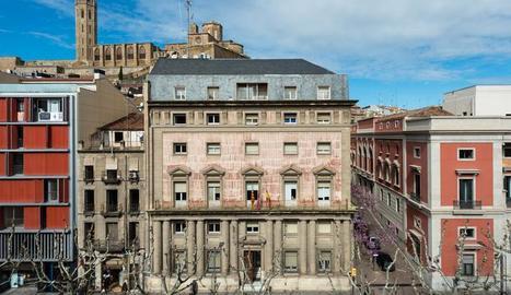L'edifici de l'antiga Audiència de Lleida acollirà el nou Museu Morera.