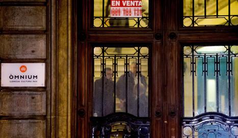 La seu d'Òmnium a Barcelona.