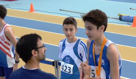 Medalles per al Lleida UA al Català