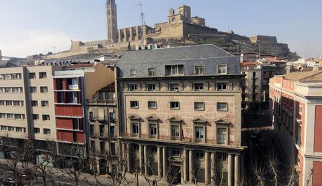 El Museu d'Art a l'antiga Audiència culminarà amb una terrassa mirador amb vista a la Seu Vella.
