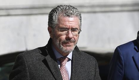 L'exconseller Francisco Granados ahir a Madrid.