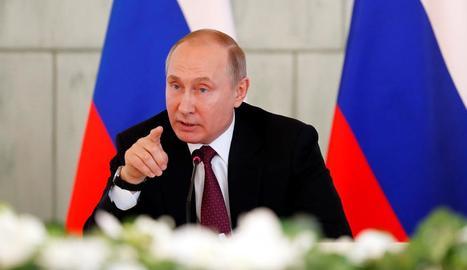 El president Vladímir Putin.