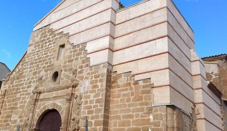 L'aspecte actual de l'església de Rosselló després de les obres.