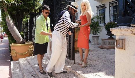 Moment de la sèrie 'El asesinato de Gianni Versace'.
