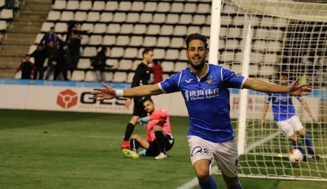 El Lleida guanya a l'Ebre (1-0) i torna a estar a un punt del play off