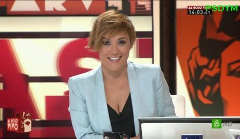 Cristina Pardo, a 'ARV'.