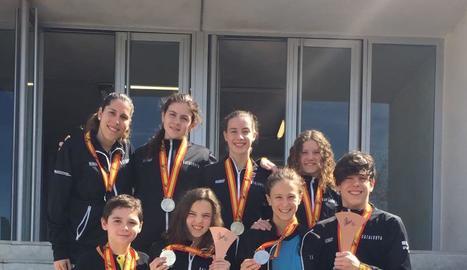 Catalunya, amb vuit lleidatans, obté tres medalles a l'Estatal
