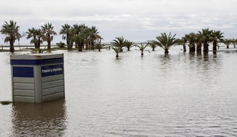 El temporal ja s'ha deixat notar a Andalusia.