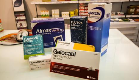 Alguns dels medicaments el preu dels quals no ha parat de pujar des de l'any 2012.