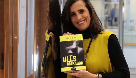 'Ulls maragda', de l'autora lleidatana Marta Alòs, arribarà a les llibreries la setmana que ve.