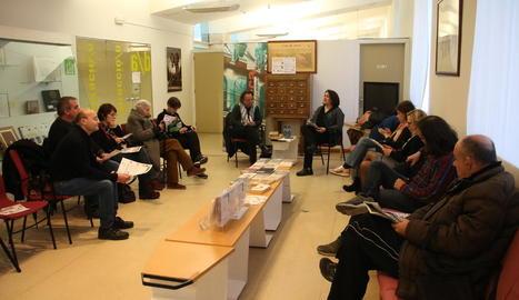 Carles M. Sanuy va revelar els deu llibres que l'han marcat en una tertúlia conduïda per Anna Sàez.