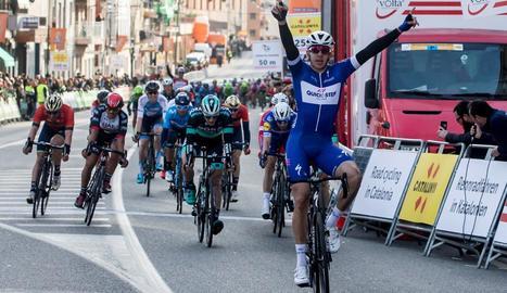 El ciclista colombià es va imposar amb molta autoritat.