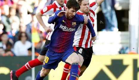 Cristiano Ronaldo celebra un dels seus quatre gols de diumenge davant el Girona.