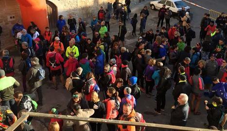 La Marxa de les Cabanes reuneix 665 participants