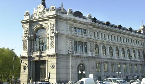 Imatge de la seu del Banc d'Espanya a Madrid.