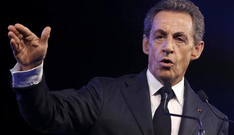 L'expresident de França Nicolas Sarkozy.