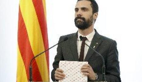 Torrent convoca per demà a les 17.00 h el ple per investir Jordi Turull