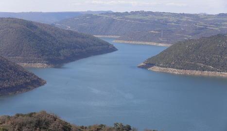 El Dia Mundial de l'Aigua se celebra a Lleida amb bones reserves als pantans (63%), encara que en altres punts de l'Ebre hi ha sequera.