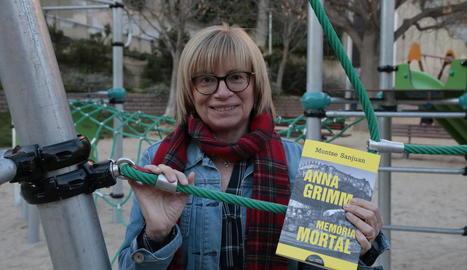 Montse Sanjuan, autora d''Anna Grimm: Memòria mortal'.