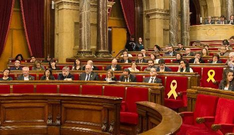 El ple del Parlament