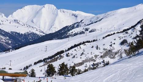 Estat de les pistes de Baqueira Beret, a la Val d'Aran.