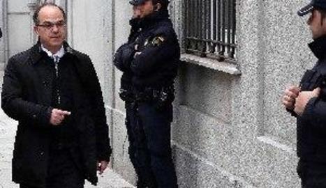 La Fiscalia demana presó per a Turull i els altres 4 després de la fugida de Rovira