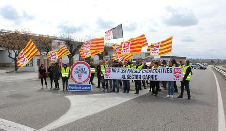 Una protesta contra les
