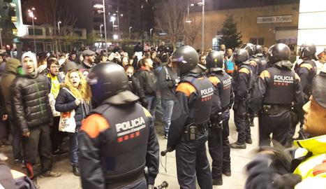 L'exterior de l'estació de Lleida.