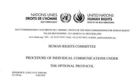 L'ONU insta Espanya a garantir els drets polítics de Jordi Sànchez